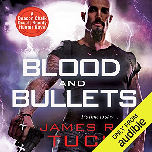 Blood and Bullets audiobook cover art