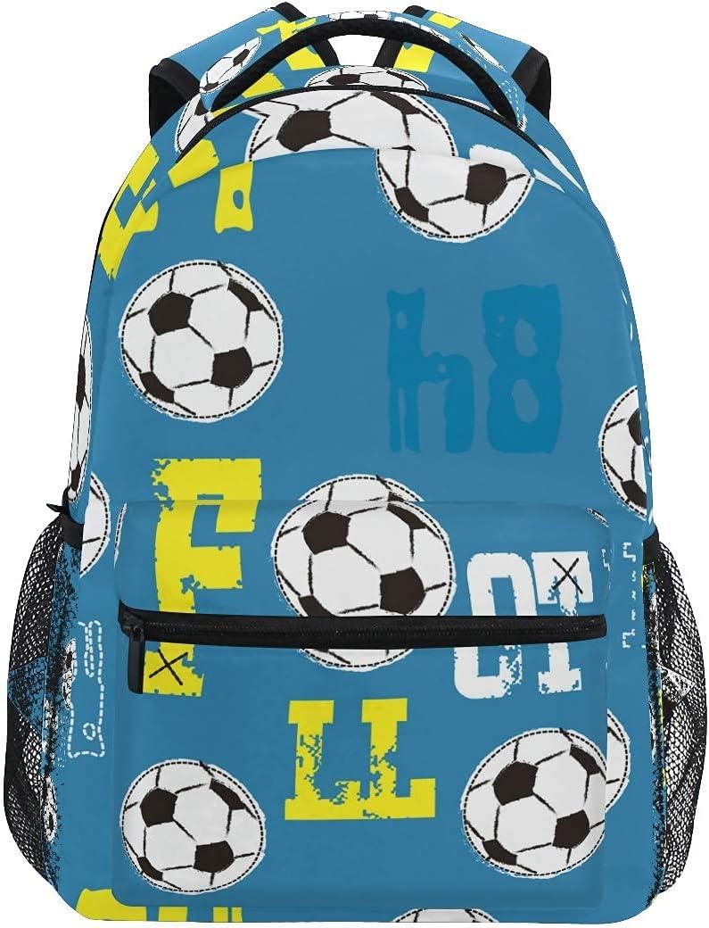 Sport discount Football Soccer Max 50% OFF Backpack Travel Daypacks Bag Durabl Casual