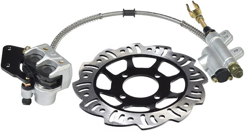 AlveyTech Rear Foot Brake Disc New Shipping Free Tucson Mall Master Cylinder Pads Assembly