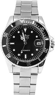 Reloj de pulsera de acero inoxidable del reloj mecánico automático masculino del ganador 3Colors