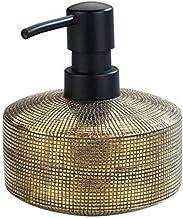 WENKO Dozownik mydła Rivara ceramika - dozownik mydła w płynie, dozownik płynu do mycia naczyń, ręcznie malowany, pojemnoś...