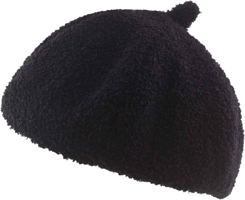 ASO-SLING Plain Colors Dress Beret Hats for Women French Style Newsboy Cap Female Lady Girls Cozy Octagonal Cap