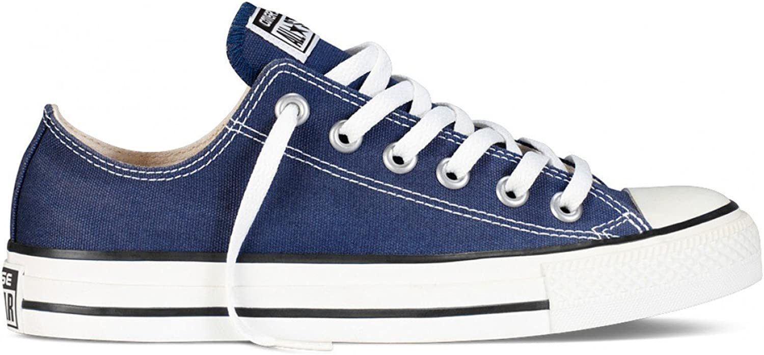 Converse Chuck Taylor All Star Low Top (6.5 D (M) Navy US, bluee)