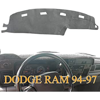 Black-Blue Y03 Yiz Dashboard Cover Dash Cover Mat Pad Custom Fit for Dodge Charger 2011-2019
