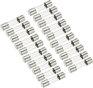 3//16 inch x 3//4 inch Fast Blow F2AL125V F2 L125V F2A 125V 2A 125V//250V F2L125V Cartridge Glass Fuses 5X20mm Pack of 5 F2A 125V Fast Acting