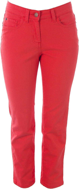 BODEN Women's Cropped Straight Leg Jeans orangeRed
