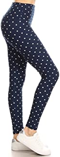 Leggings Depot Yoga Waist REG/Plus Women's Buttery Soft Leggings