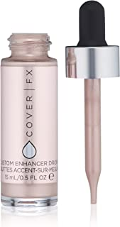 Cover FX Custom Enhancer Drops: Illuminating Drops That Can Be Used Alone, with Foundation, or Skincare Product to Create ...