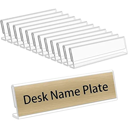 """Details about  /Etched nameplate /""""dead end/"""" show original title ft 50x150 mm 2 versions"""