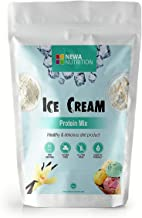 Protein Sugar Free Gluten Free Non GMO Ice Cream Mix Vanilla. Weight: 8oz/226.8 gr.