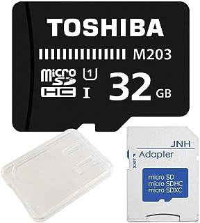 東芝 Toshiba 超高速UHS-I microSDHC 32GB + SD アダプター + 保管用クリアケース [バルク品]