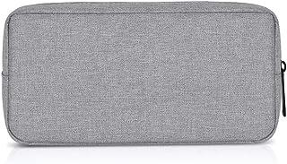 Elenxs Portable Oxford Cloth Storage Bag Digital Gadget Devices USB Cable Data Line High Capacity Storage Bag