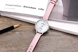 Watches for Women Ladies Watches Woman Simple Waterproof Sports Fashion Multifunction Red White Pink Chronograph Wrist Watch Leather Analogue Watches for Women Fashion Casual Wrist Watches