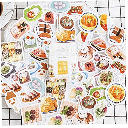 Bongles Sushi Essen Dekoration Adhesive Aufkleber DIY Cartoon Tagebuch Scrapbook Kawaii Sticker