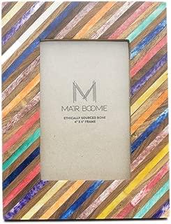 Bone and Wood Banka Mundi Frame - Multicolor - Matr Boomie (P)