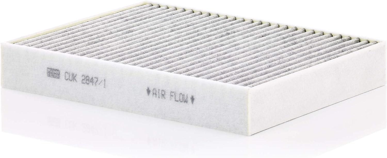 Original Mann Filter Innenraumfilter Cuk 2847 1 Pollenfilter Mit Aktivkohle Für Pkw Auto