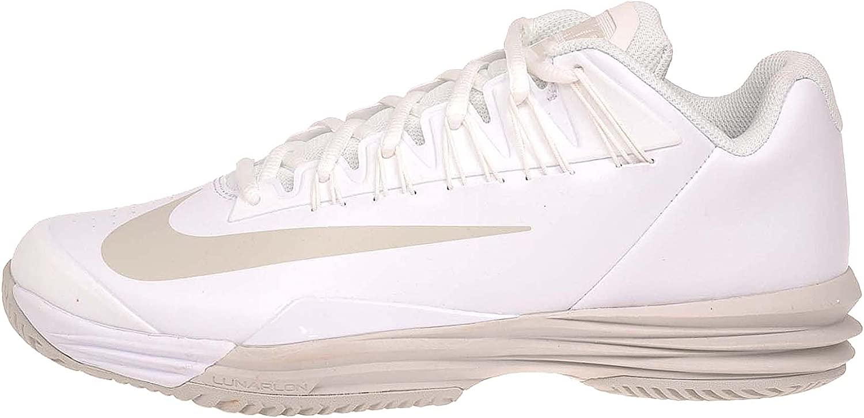 Votación medias Patatas  Amazon.com | Nike Lunar Ballistec 1.5 White/Summit White/Light Bone Womens  Tennis Shoes | Fashion Sneakers