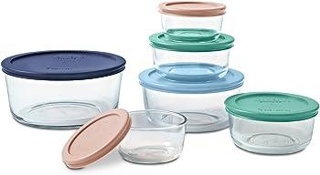 Pyrex 12-Piece Round Food Storage Set