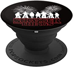 Kids Stranger Bikes Style Pop Culture Things 11 Film Fan PopSockets Grip and Stand for Phones and Tablets