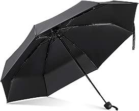 Leebotree Mini CompactSun&RainUmbrella - Lightweight Portable Outdoor Parasol for Women Men Kids, Windproof & 99.9% UV Protection