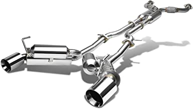 DNA Motoring CBE-370Z-D-T2 CBE370ZDT2 Stainless Steel Catback Exhaust System