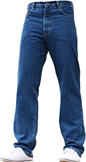 EDG=99 NEW MENS STRAIGHT LEG FARMERS WORK MECHANICS DENIM JEANS ALL WAIST /&SIZES