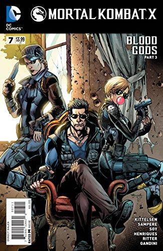 Mortal Kombat X #7 Comic Book