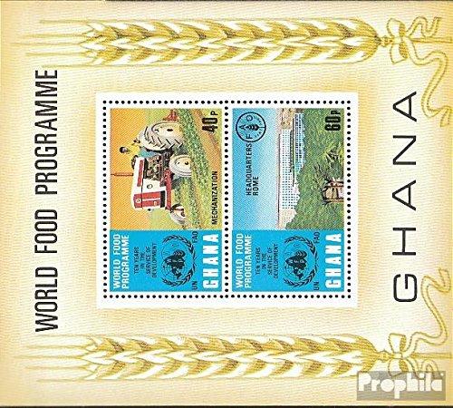 Ghana block52 (complète.Edition.) 1973 Alimentation (Timbres pour Les collectionneurs) Circulation routière
