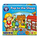 Orchard Toys International Pop to the Shops Children's Game, Multi, One Size