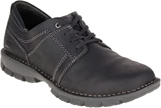 Mens Caden Leather Lace-Up Round-Toe Shoes