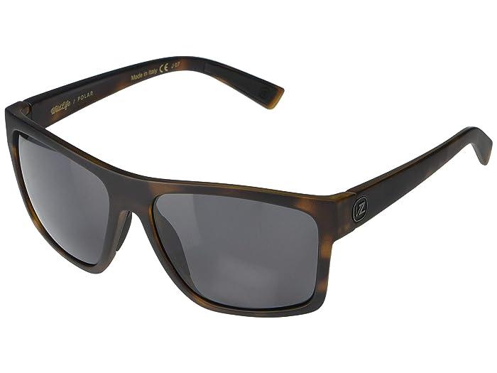 VonZipper  Dipstick (Tortoise Satin Wildlife Vintage Grey Polarized) Fashion Sunglasses