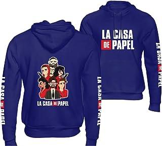 Unisex La Casa De papel money heist Hoodie sweatshirt Men and Women