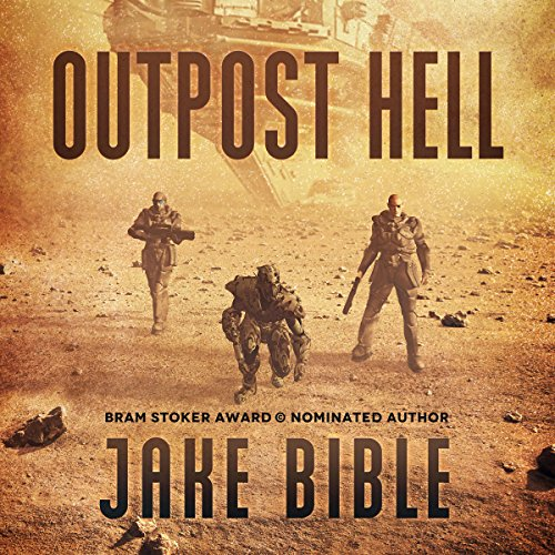 Outpost Hell audiobook cover art