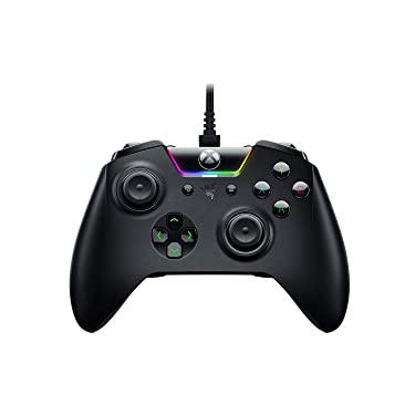 RAZER WOLVERINE TOURNAMENT EDITION: 4 Remappable Multi-Function Buttons - Hair Trigger Mode - Razer Chroma Lighting - Gaming Controller works with Xbox One and PC (Renewed)