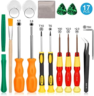 Triwing Screwdriver for Nintendo Consoles, Cochanvie Professional 17in1 Triwing Screwdriver Repair Kit for Nintendo Switch...
