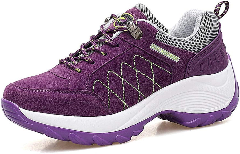 Super frist Women's Warm Hiking shoes Breathable Sports shoes Waterproof Non-Slip Walking Trekking shoes