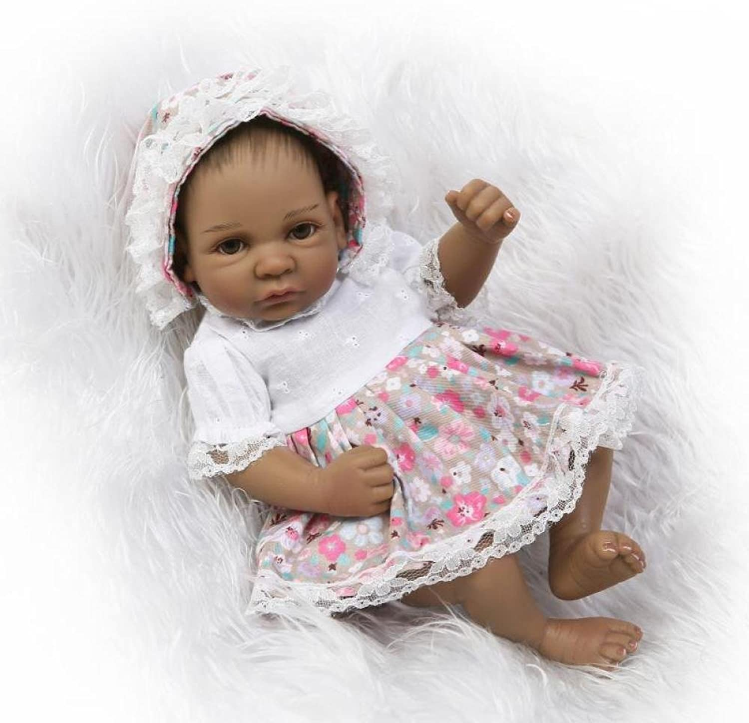 11 inch Real Life Looking Baby Dolls Soft Silicone Reborns Lifelike Realistic Newborn Baby Girl Toy Gift 27 cm