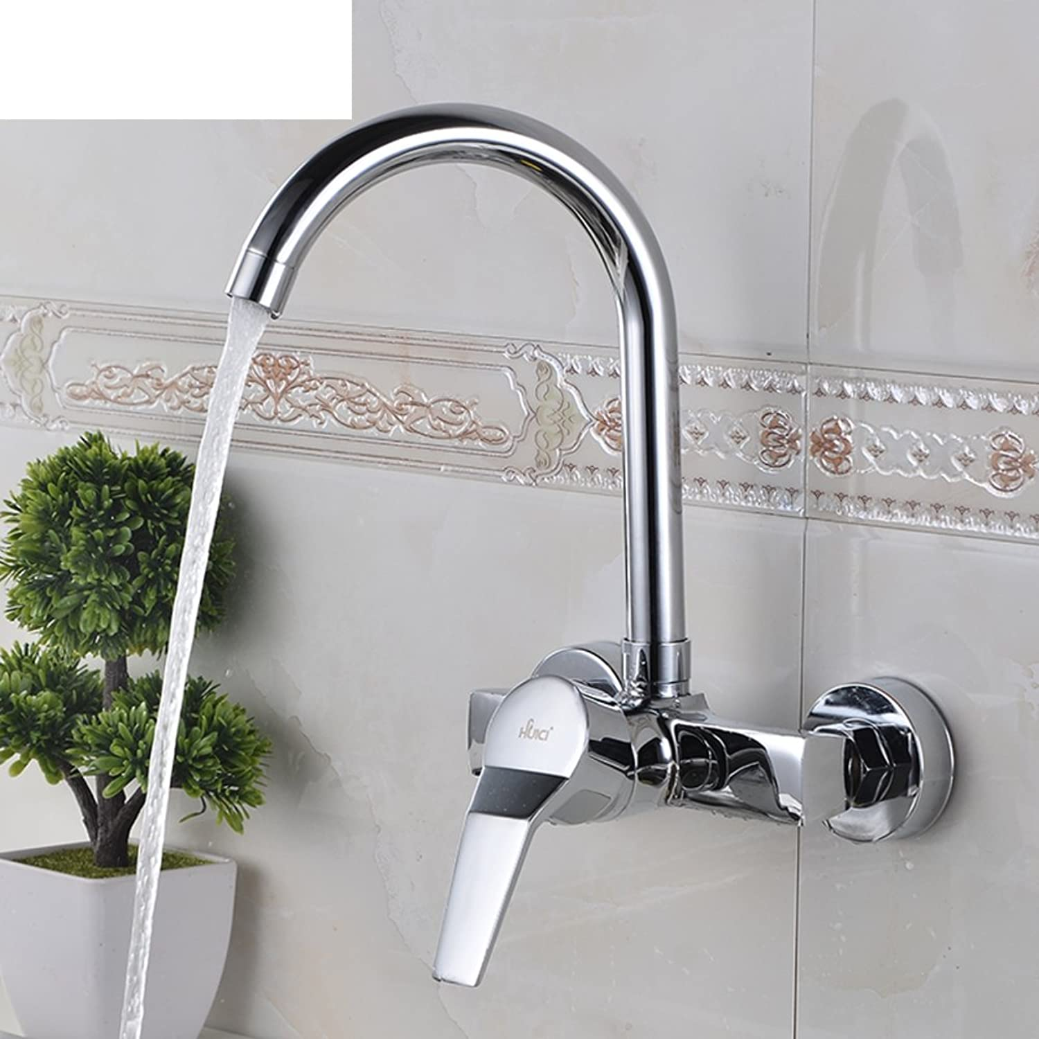 Wall Kitchen Faucet hot and Cold Balcony Kitchen Faucet redating hot and Cold taps-B