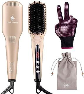 موی صاف کننده یونیورس MiroPure برای موهای نرم بدون قارچ ابریشمی با تکنولوژی گرمایی MCH برای ظاهر عالی در خانه