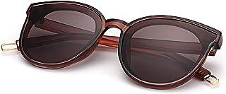 COASION Oversized Fashion Round Sunglasses for Women Men Vintage Shades Cat eye Sun Glasses