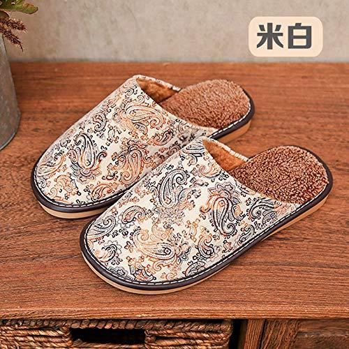 Zapatillas De Casa Para Mujer,Otoño Invierno Cálido