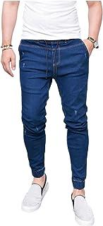 Letuwj Men's Denim Skinny Elastic Jean