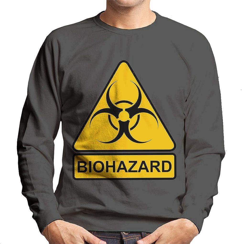 Cloud City 7 Biohazard Classic Logo Men's Sweatshirt