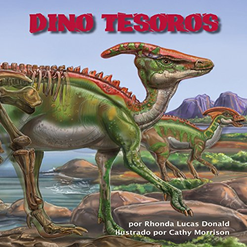Dino Tesoros [Dino Treasures] audiobook cover art