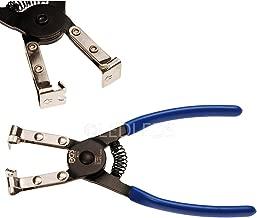 SEN Pinze per Fascette stringitubo autobloccanti Professionali in Metallo Strumenti per Riparazione Auto Tipo Dritto Nero e Rosso