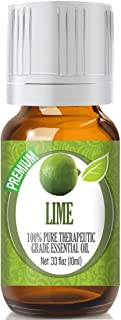 Lime Essential Oil - 100% Pure Therapeutic Grade Lime Oil - 10ml
