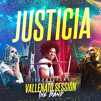 Justicia (Vallenato Session) [En Vivo]