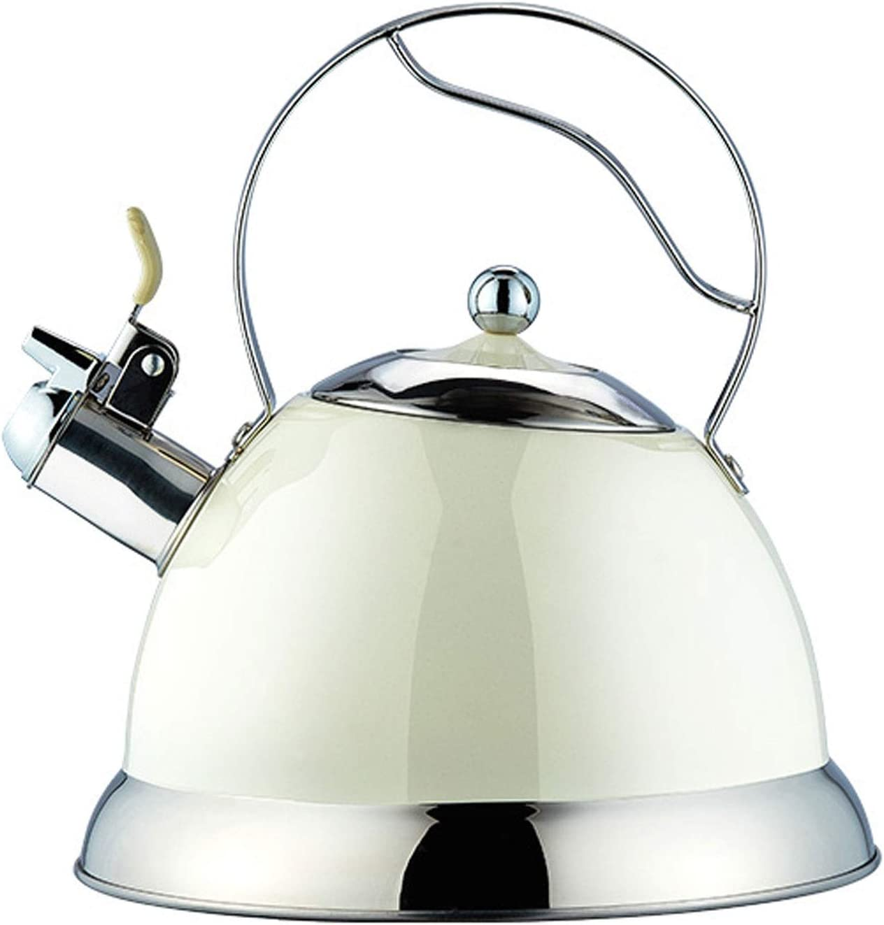 Finally popular brand Whistling Kettles Stove Tea Kettle Stainless Te Steel Limited time trial price