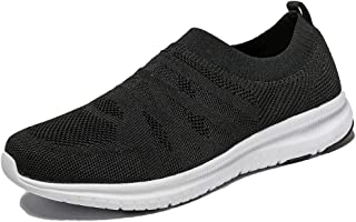 Yatorso Men's Slip On Walking Shoes Lightweight Causual Running Sneakers
