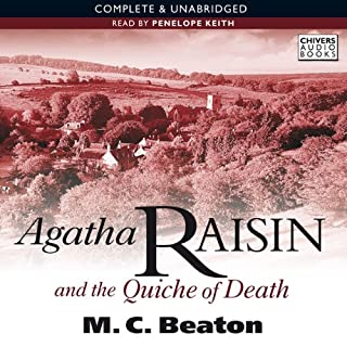 Agatha Raisin and the Quiche of Death cover art